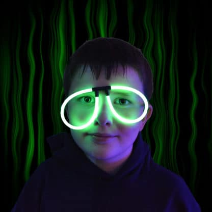 glow stick novelty glasses