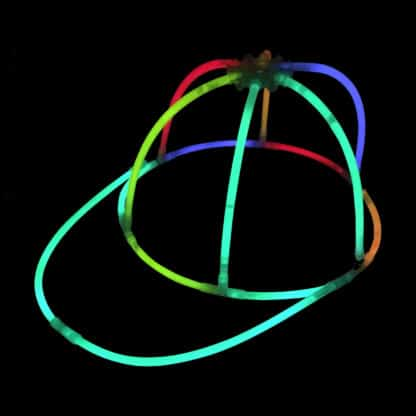 Glow in the Dark Glow Stick Cap