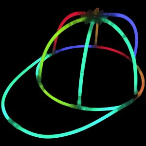Glow in the Dark Party Glowstick Hats