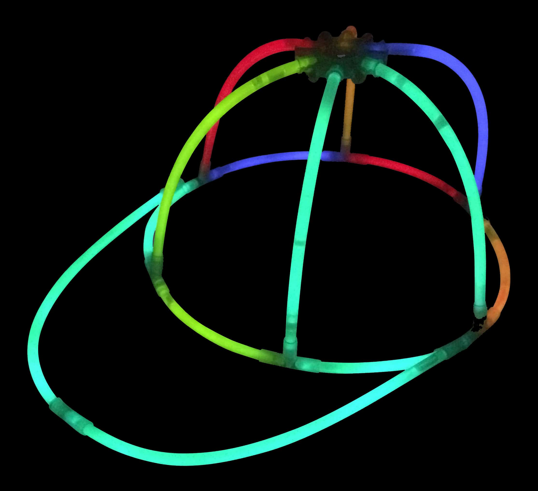 Glow in the Dark Party Glowstick Hats