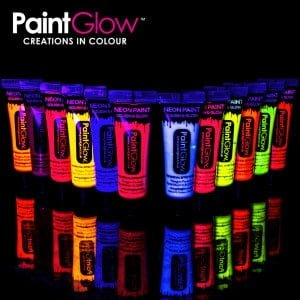 Neon UV Body and Face Paint