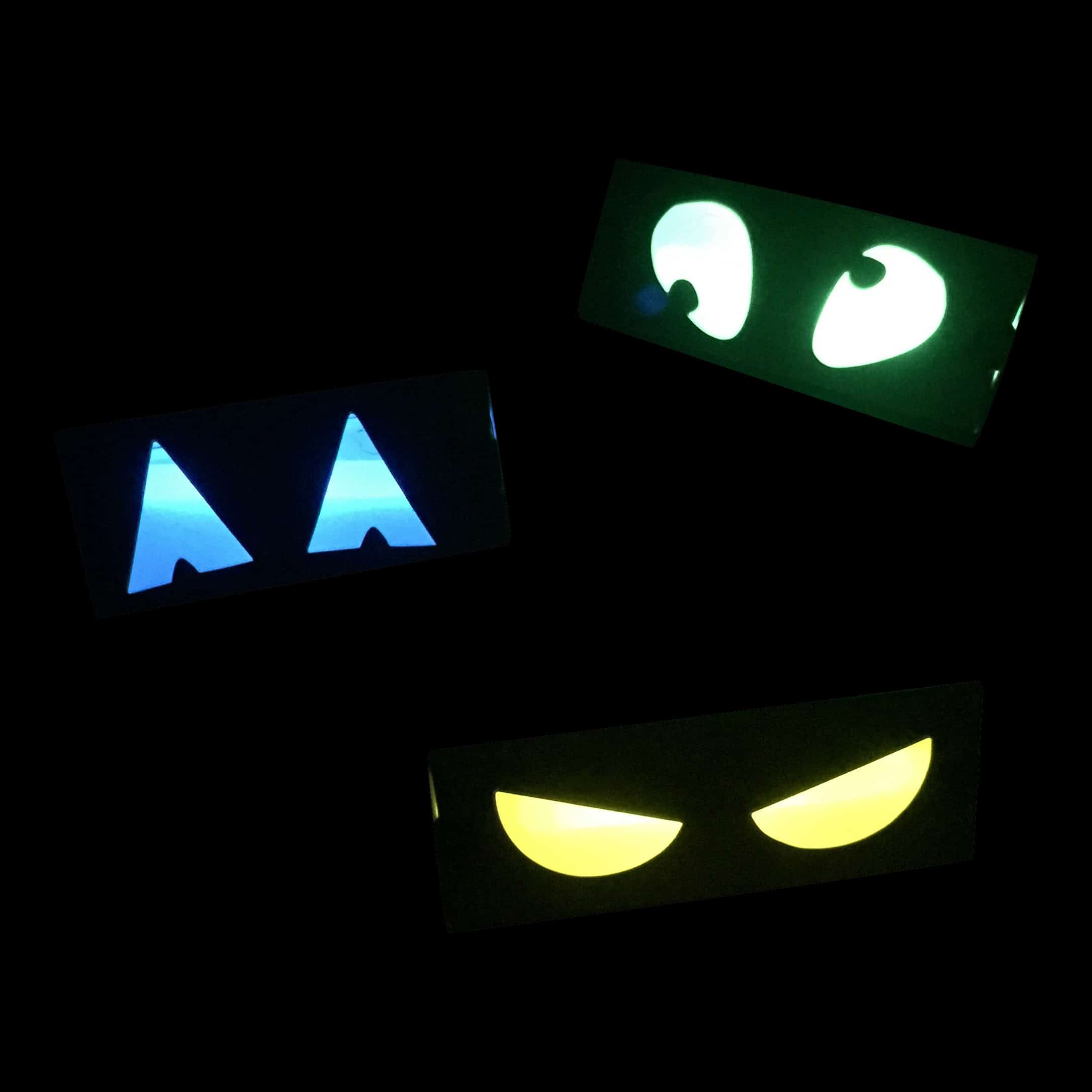 Glow in the Dark Spooky Eyes Decoration