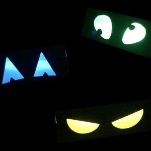 Glow Stick Spooky Eyes