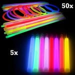 Budget Glow Stick Party Pack