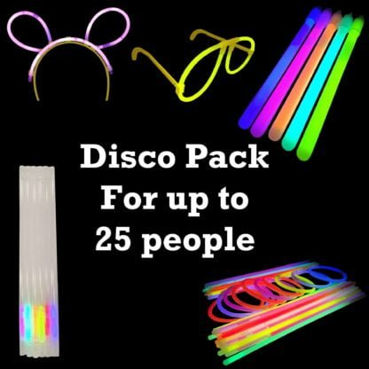 Disco Glow Stick Party Pack