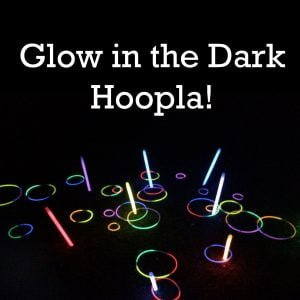 Glow in the Dark Hoopla Garden Game