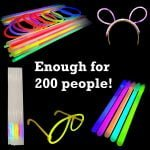 Mega Glow Stick Party Pack