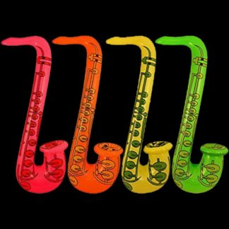 Inflatable Saxophone Party Bag Accessory