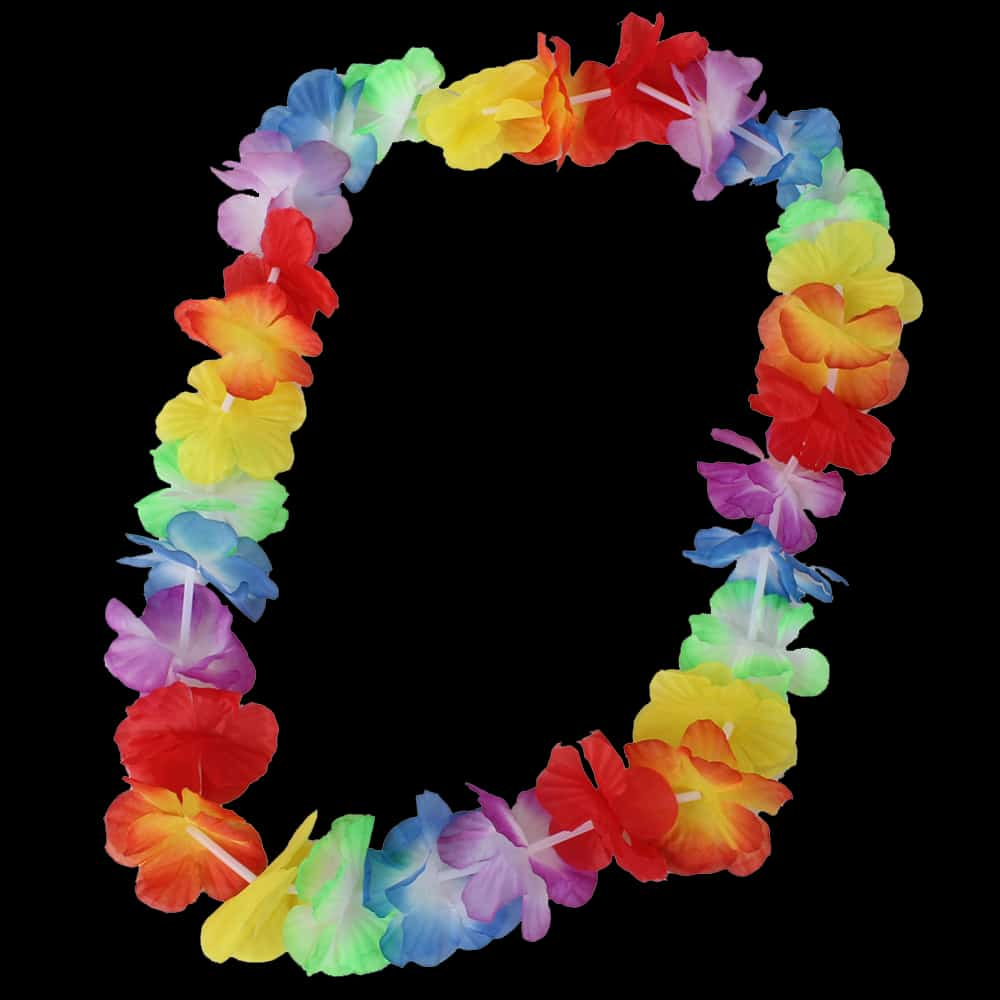 Tropical Hawaiian Necklace Lei
