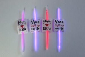 mothers day glow stick