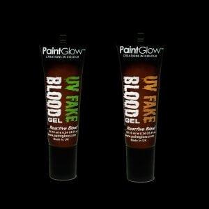 Glowing UV Fake Blood Halloween