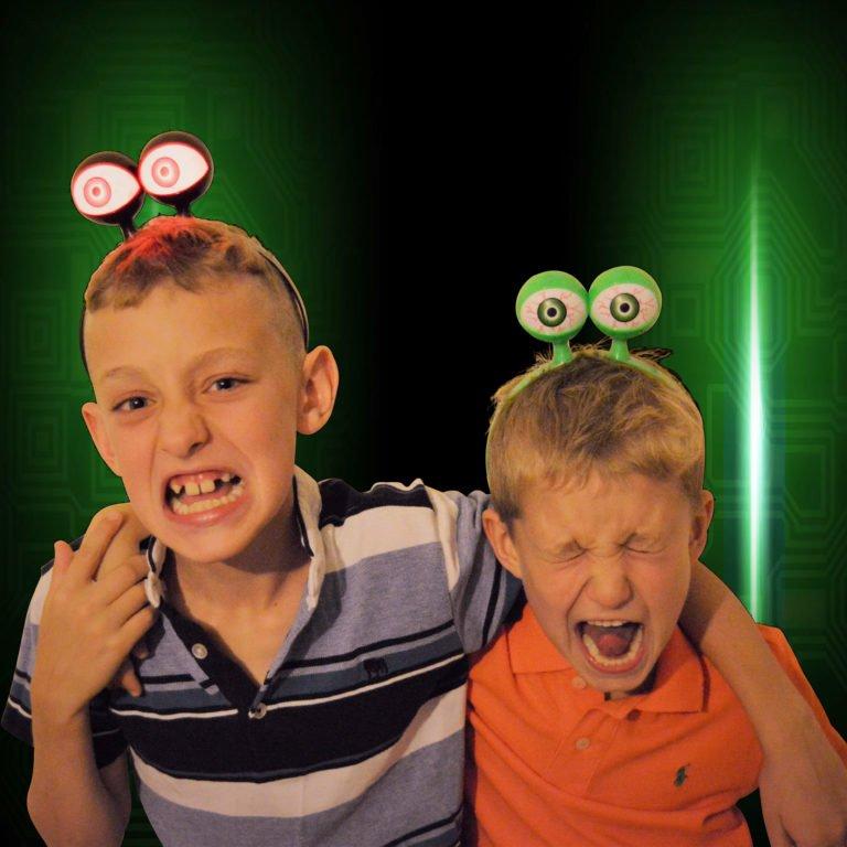 LED Eyes Headband Spooky