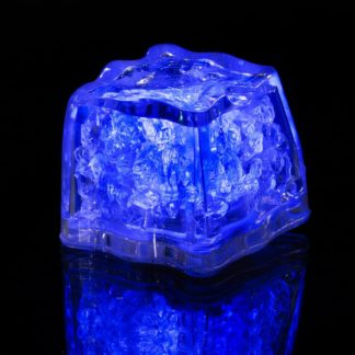 Blue LED Ice Cube with variable light and flashing modes