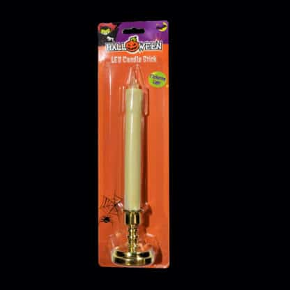 LED Candle Stick with flickering flame Halloween