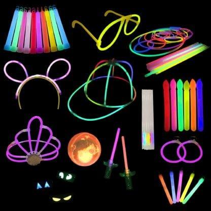 Glow Stick and Glow Novelties Sample Pack
