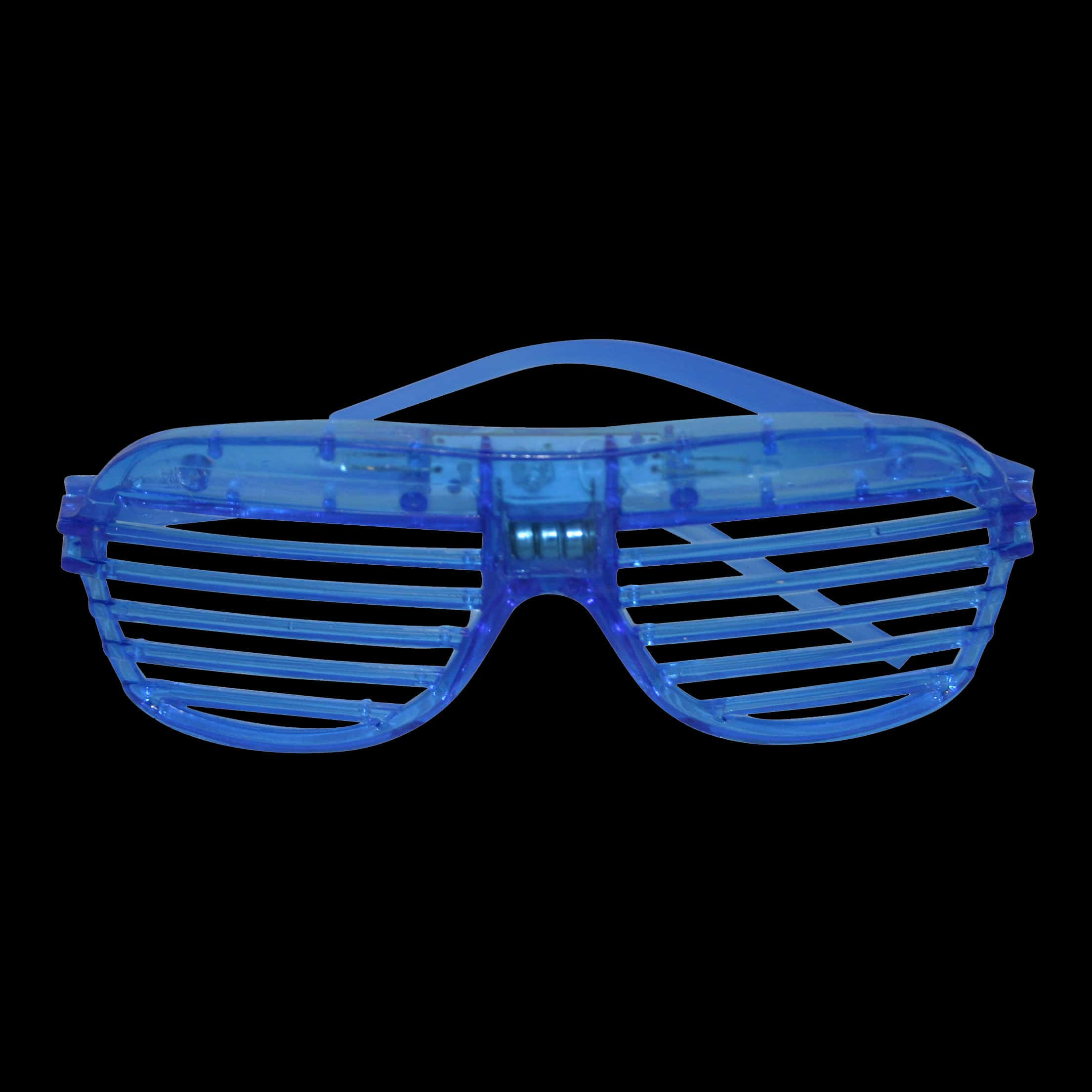 c8da423111 Brightly lit LED Shutter Shades with flash function