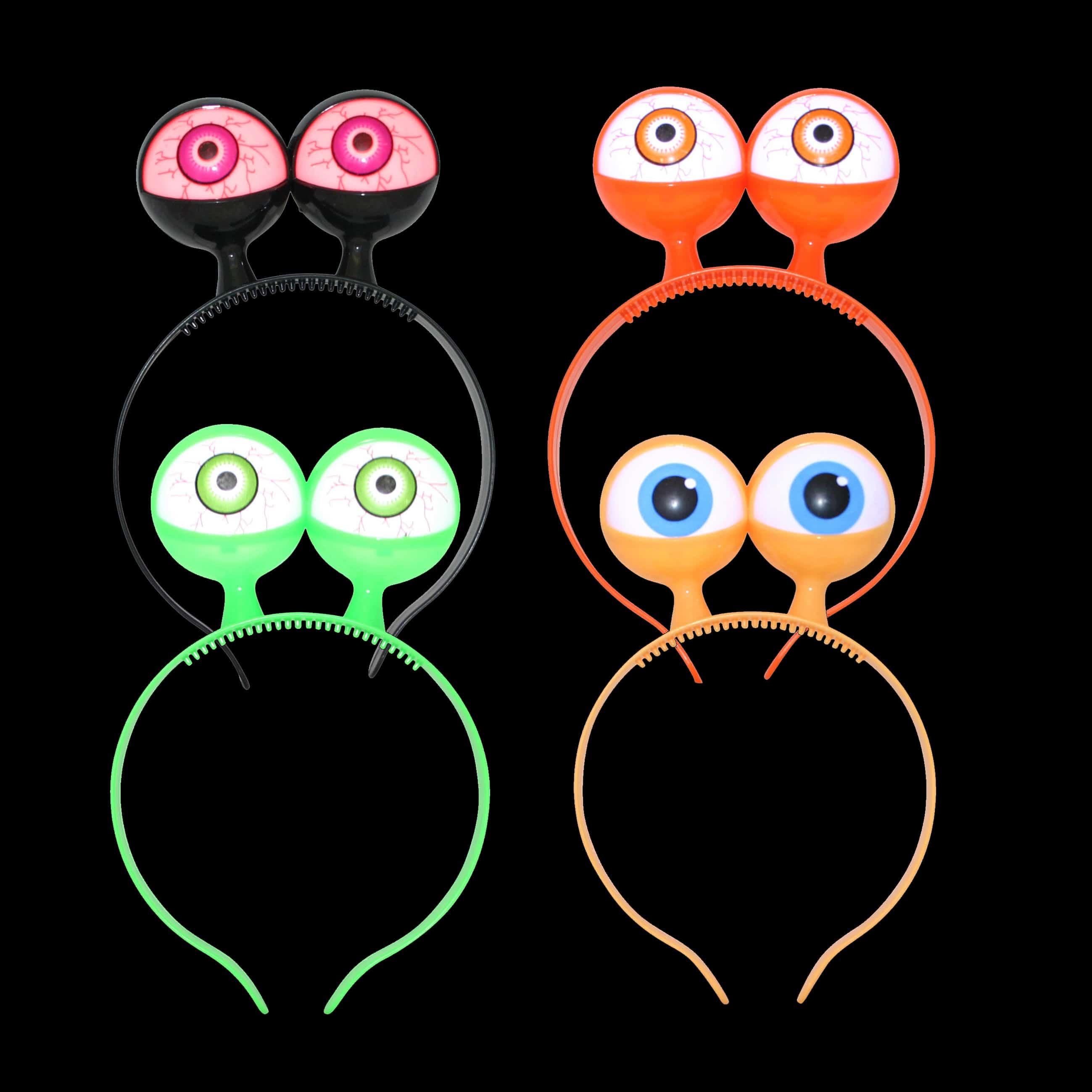 LED Spooky Eyes Headband