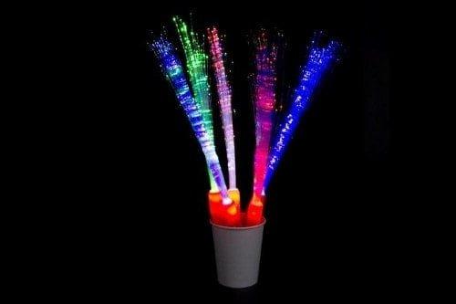 LED Fibre Optic Wand   Glowtopia