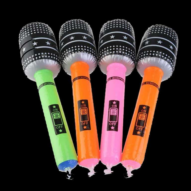 Inflatable Microphones Party Bag Filler