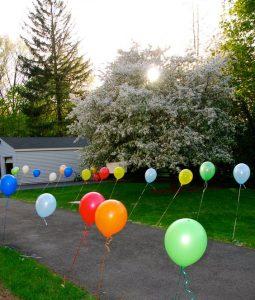Light up Balloon Walkway School disco