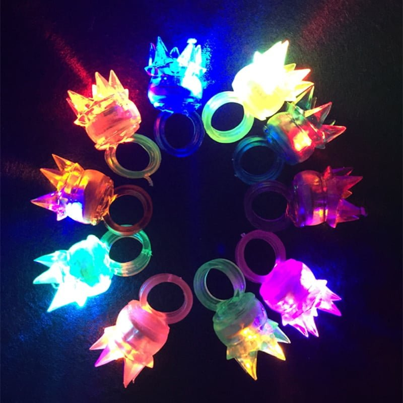 LED Flashing Ring in jelly soft silicone
