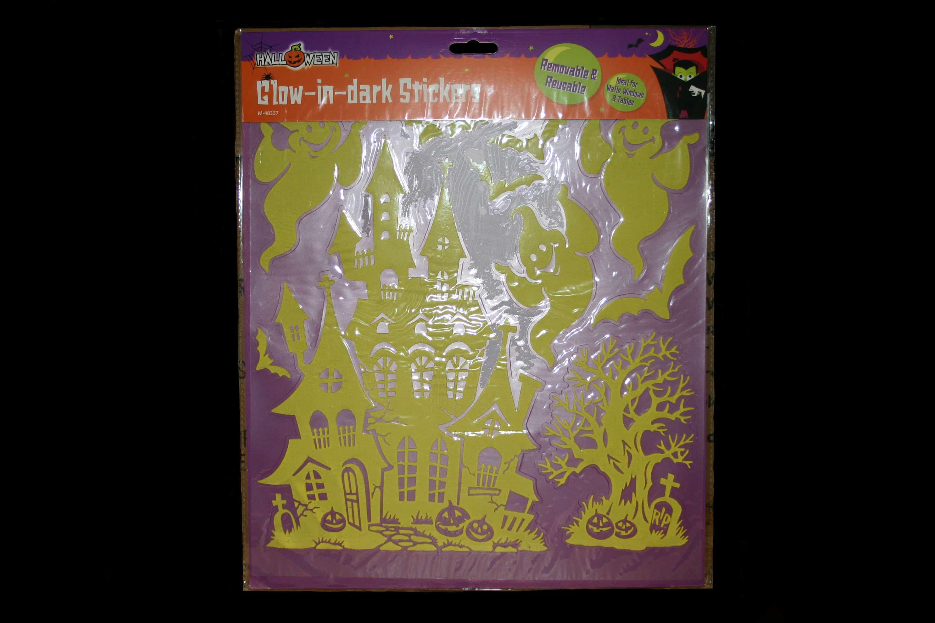 Halloween Glow in the Dark Stickers