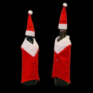 Santa Wine Bottle Suit
