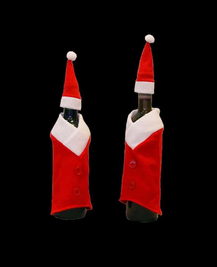 Santa Wine Bottle Suit