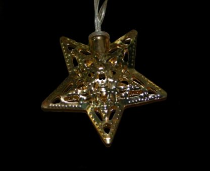 Battery operated Metal Star LED Lights