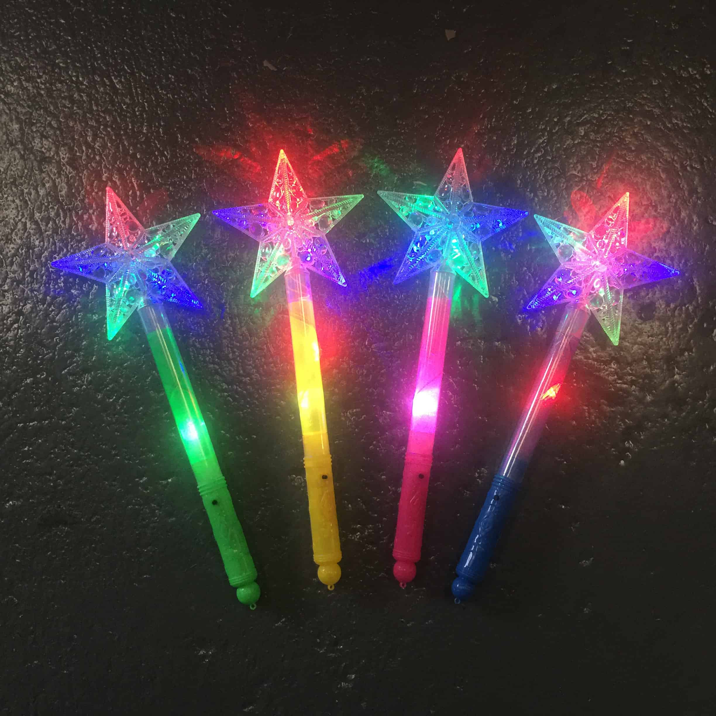 LED Star Wands