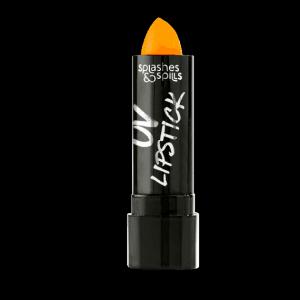 Splashes and Spills UV Orange Lipstick