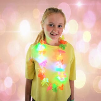 LED Light Up Lei for festivals, party wear, beach party