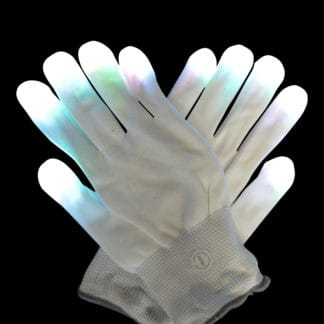 Light Up Flashing Gloves