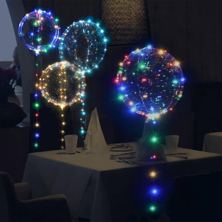 Party Balloon LED Light Chain Multi