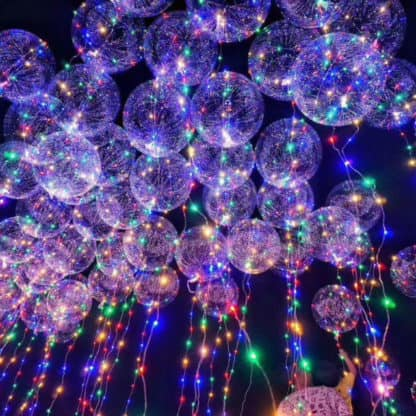 Party Balloon LED Light Chain Multi