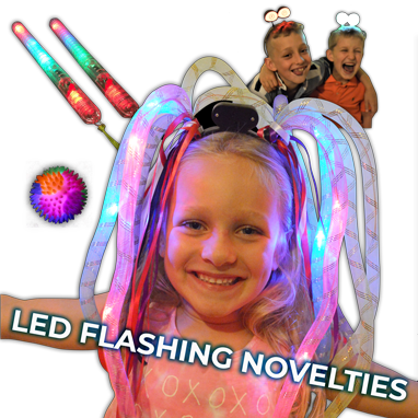 Flashing Light Up Novelties