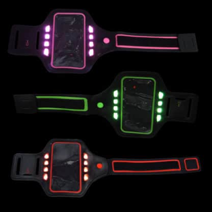 Arm band Phone MP3 LED light up for runners gym