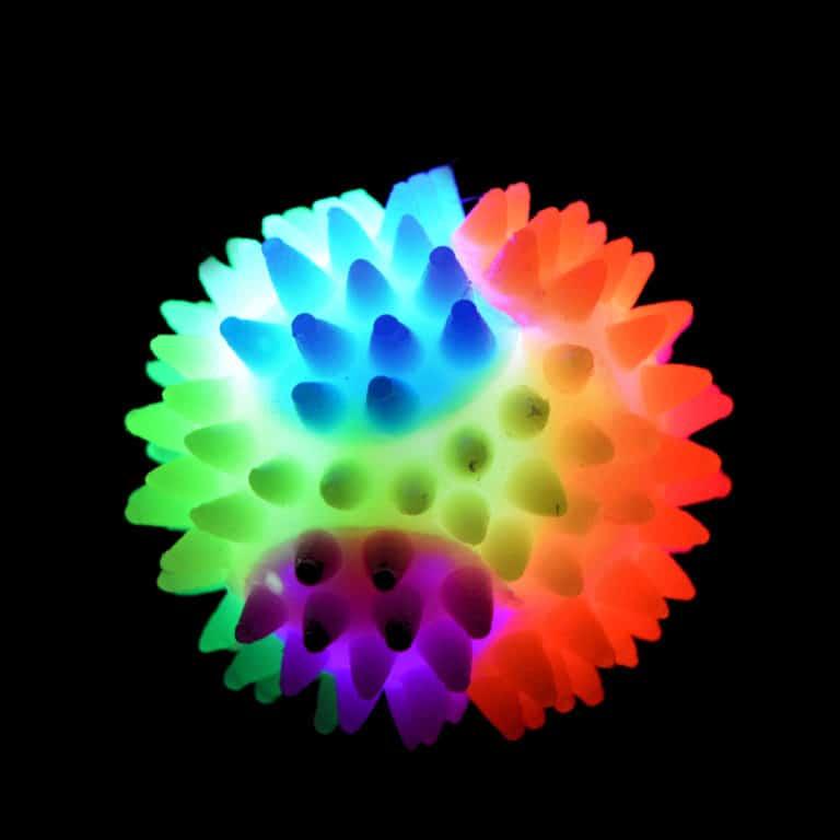 Soft silcone waterproof spiky ball small