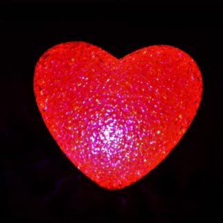 CRYSTAL JEWEL EFFECT LIGHT UP HEART