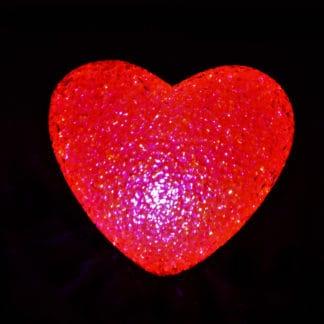 CRYSTAL JEWEL EFFECT LIGHT UP HEART