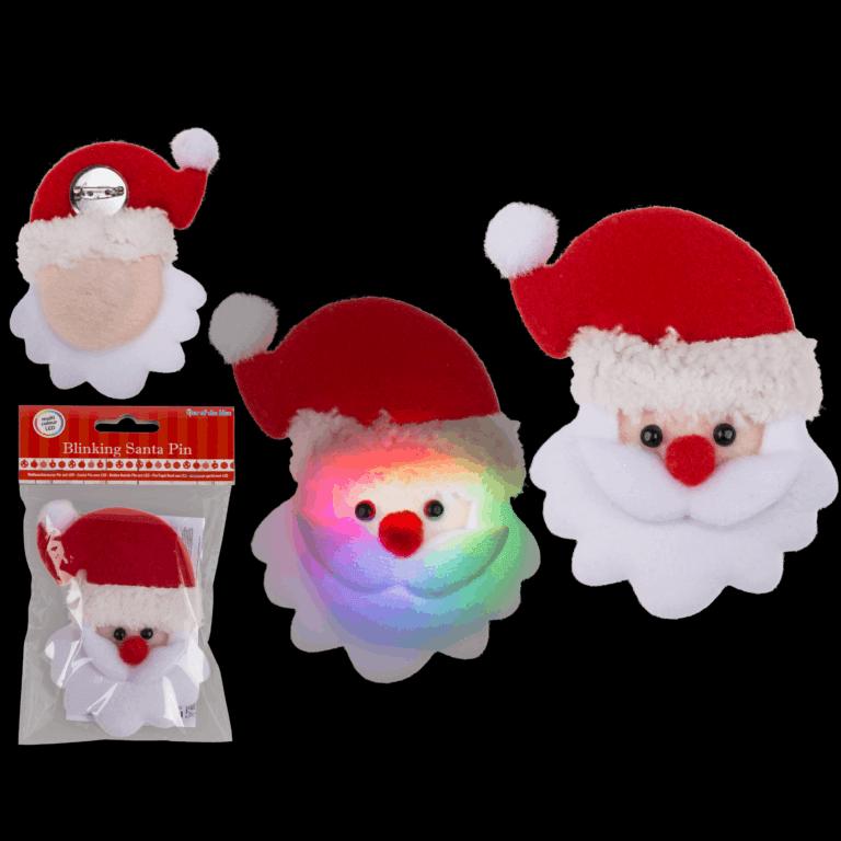 Christmas Santa Badge
