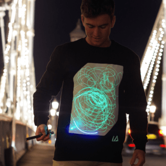 Glow in the Dark Illuminated Apparel Jumper