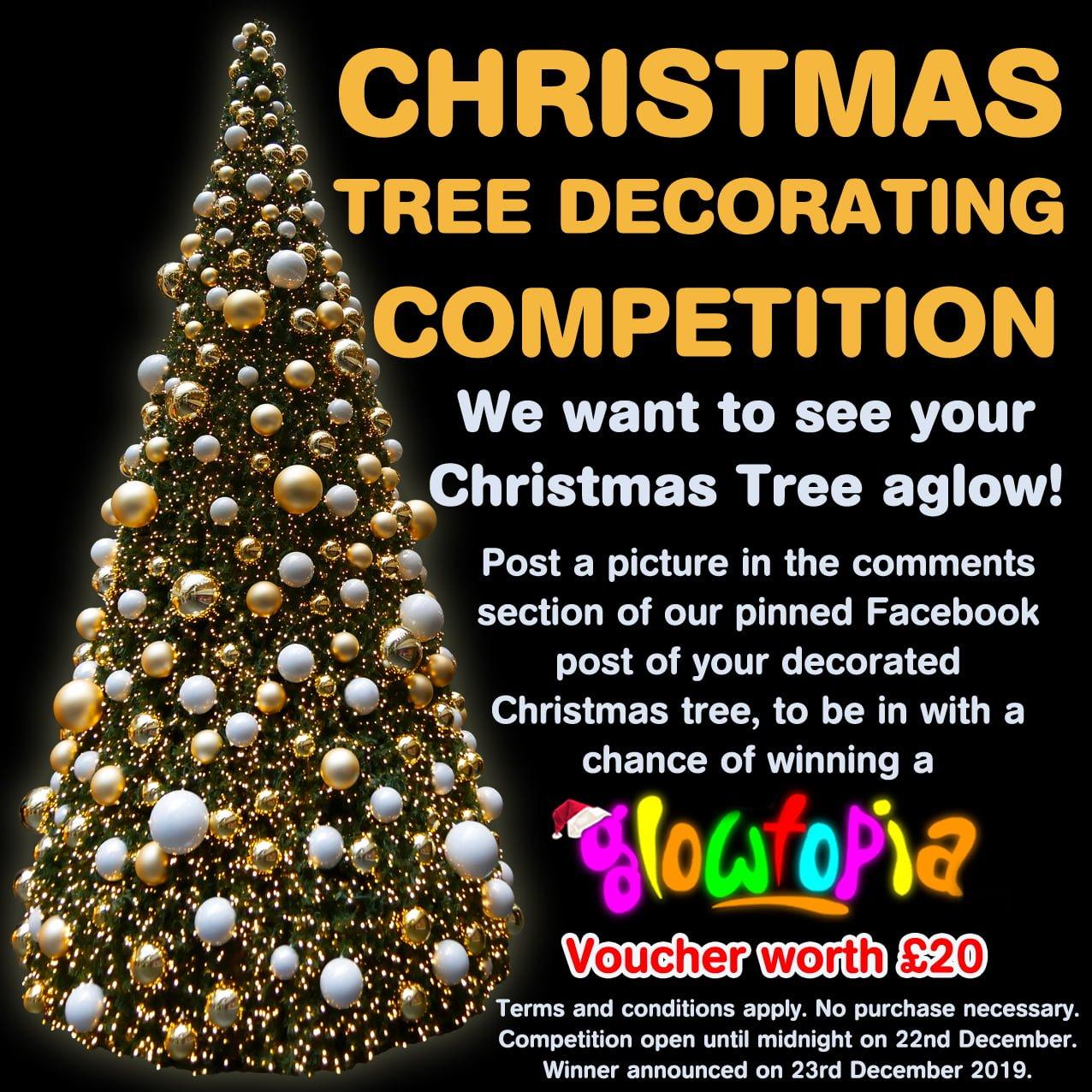 Christmas Tree Decoration Competition 2019 Glowtopia