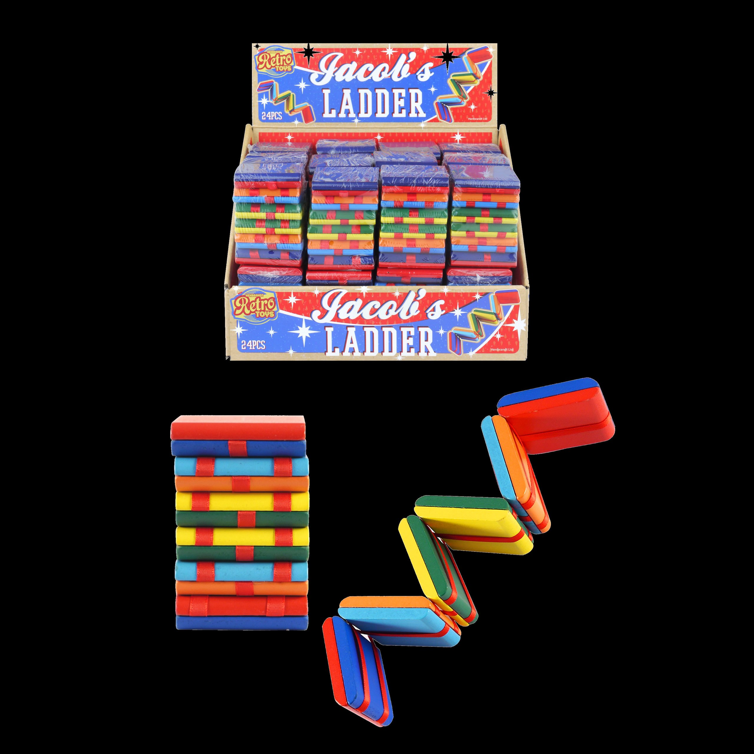 Jacobs Ladder Wooden Game Glowtopia