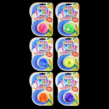 Twisting Worm Magic Toy