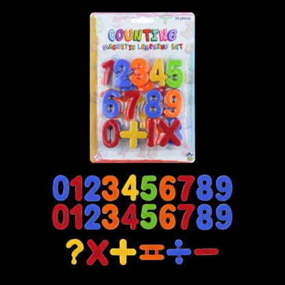 Fridge Magnetic Numbers