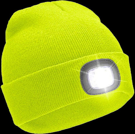 Wooly Hat with Light
