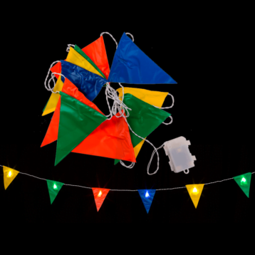 LED Flags Bunting