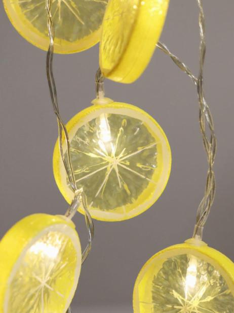 LED Light Up Lemon String