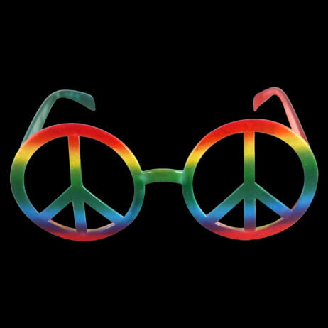 Pride Peace Glasses